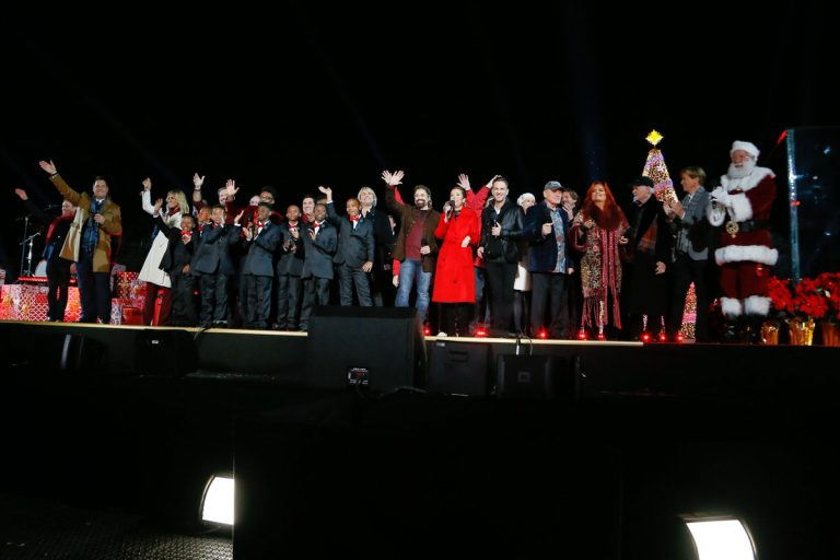 2017 National Christmas Tree Lighting - All Performers