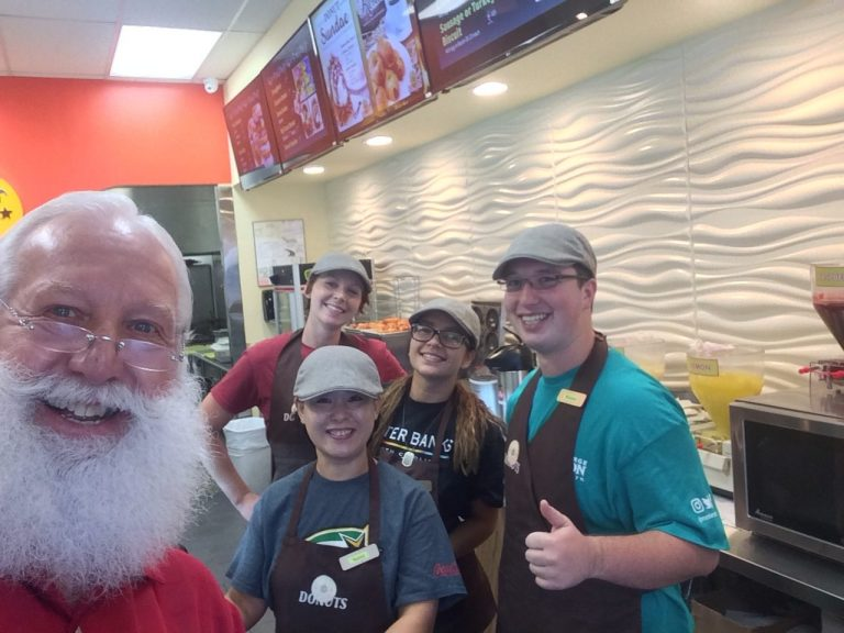 Papa HoHo at Texas Donuts
