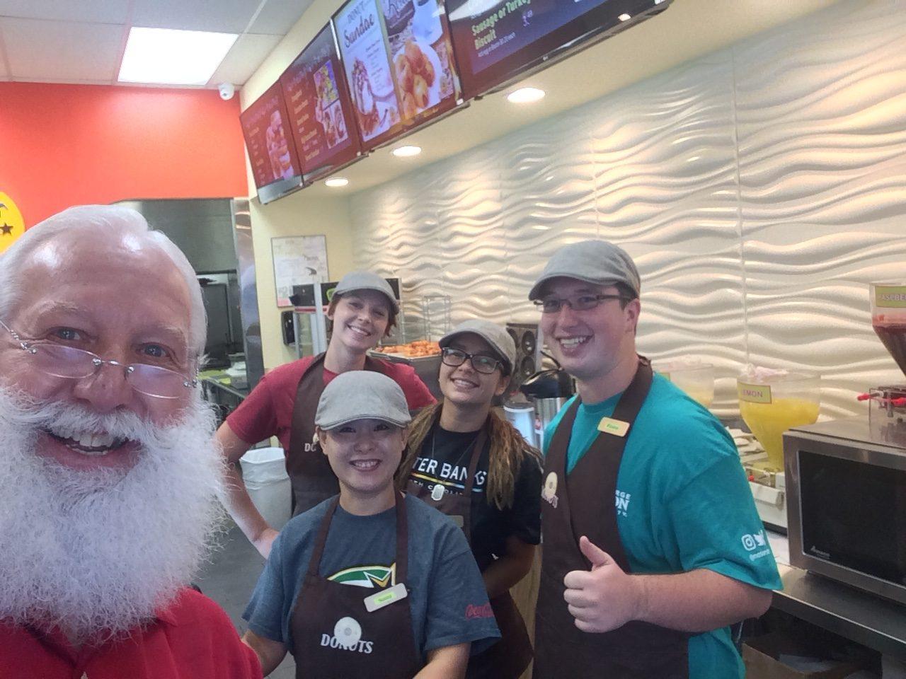 Papa HoHo at Texas Donuts